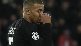 Kylian Mbappé führt die Torschützenliste der Ligue 1 mit 25 Treffern überlegen an