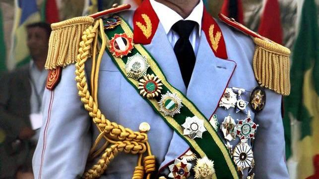 Gaddafi: Dienstältester Diktator der Welt.