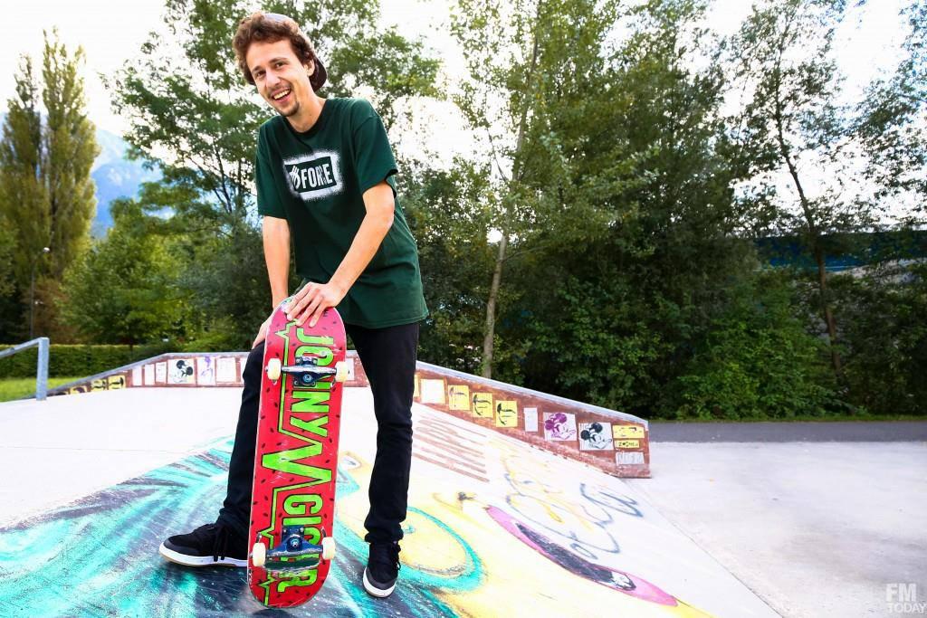 Jonny Giger's Pro-Skater (© Raphael.Rohner/FM1Today)