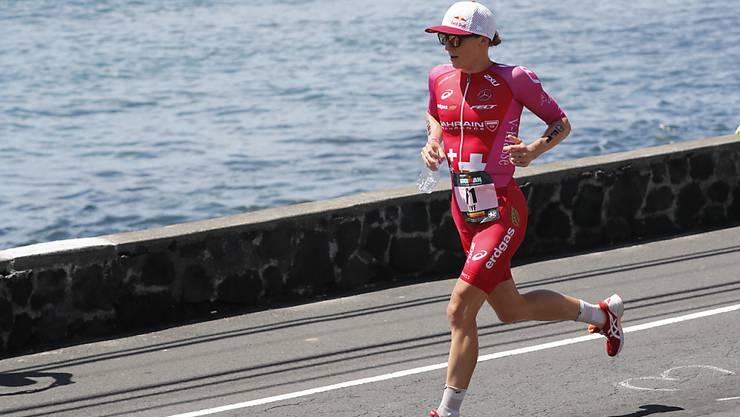 Daniela Ryf feiert beim Ironman Austria in Klagenfurt einen überlegenen Sieg