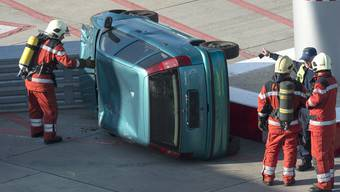 Notfallübung Flughafen Zürich