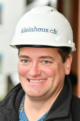 Bauleiter Stefan Brüngger