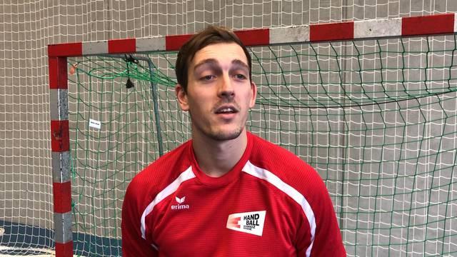 Handball: Marvin Lier im Interview vor dem Cup-Fight gegen seinen Ex-Verein Endingen