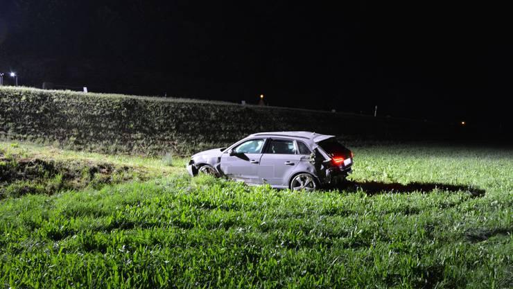 Am Montagabend verunfallte 30-Jähriger auf der Hauptstrasse von Zeglingen.