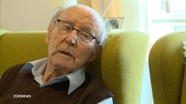 Ältester Zürcher wird 105 Jahre alt