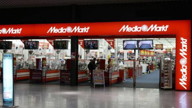 Die neue, verkleinerte Media-Markt-Filiale im Stücki-Center. Foto: Kenneth Nars