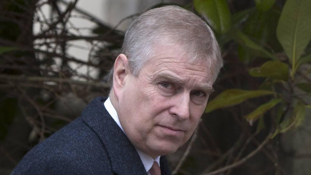 ARCHIV - Prinz Andrew von Großbritannien. Foto: Neil Hall/PA Wire/dpa