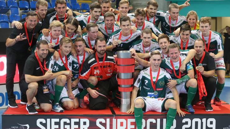 Treffsicher und einmal mehr auf Erfolgskurs: Der SV Wiler-Ersigen feiert kurz vor dem Saisonstart seinen ersten Titel.