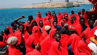 Flüchtlinge aus Afrika an der spanischen Küste: Die Route über Andalusien wird immer häufiger genutzt.