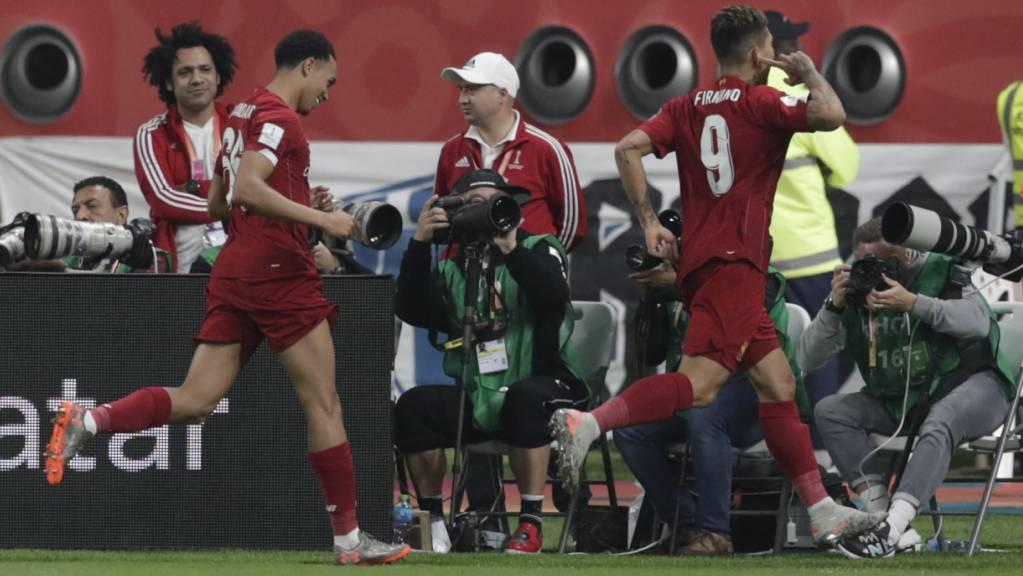 Roberto Firmino erlöste den FC Liverpool in der Nachspielzeit