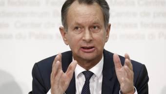 Ob Christa Markwalder wie geplant im kommenden Winter Nationalratspräsidentin werden soll, liess der FDP-Präsident Philipp Müller offen.