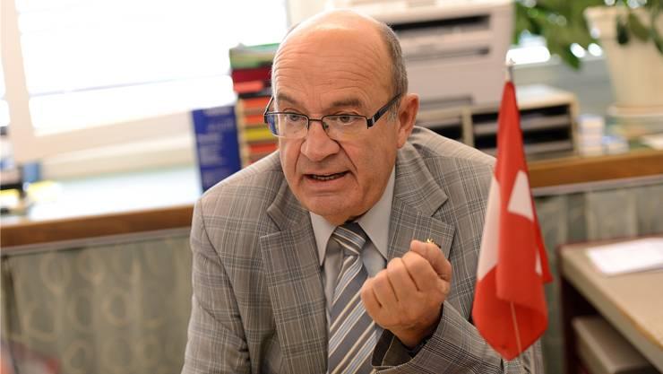 Der ehemalige Nationalrat Christian Miesch wird verdächtigt, rund 4600 Franken für die Einreichung eines Vorstosses kassiert zu haben. (Archivbild