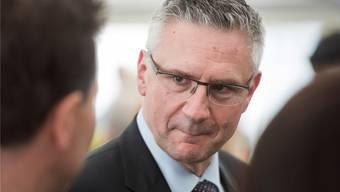 Andreas Glarner teilt gerne aus – wurde aber noch nie wegen Beleidigung verurteilt.