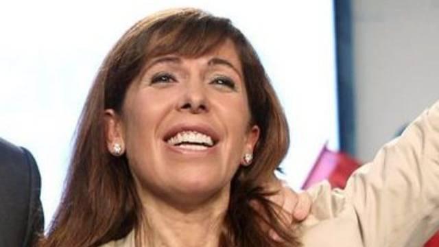 PPC-Chefin Alicia Sanchez-Camacho wurde abgehört und erstattete Anzeige (Archiv)
