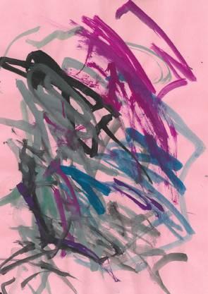 Zeichnung eines Kindes aus Menziken