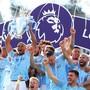 Für die Fortsetzung der Premier League gibt es offenbar neue Planspiele (im Bild der Jubel von Manchester City beim letztjährigen Gewinn des Meistertitels)