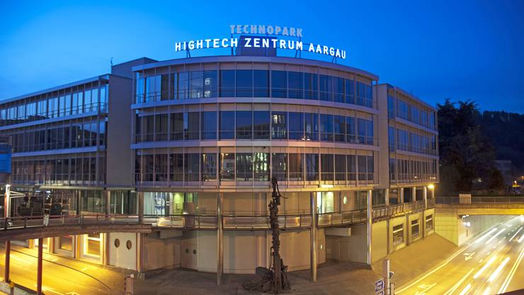 Seit zwei Jahren befindet sich hier die Anlaufstelle für innovationswillige KMU im Kanton: Das Hightech Zentrum Aargau in Brugg dient als Bindeglied zwischen Forschung und Wirtschaft.