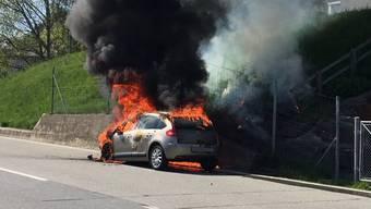 Der Brand konnte rasch gelöscht werden. (Symbolbild)