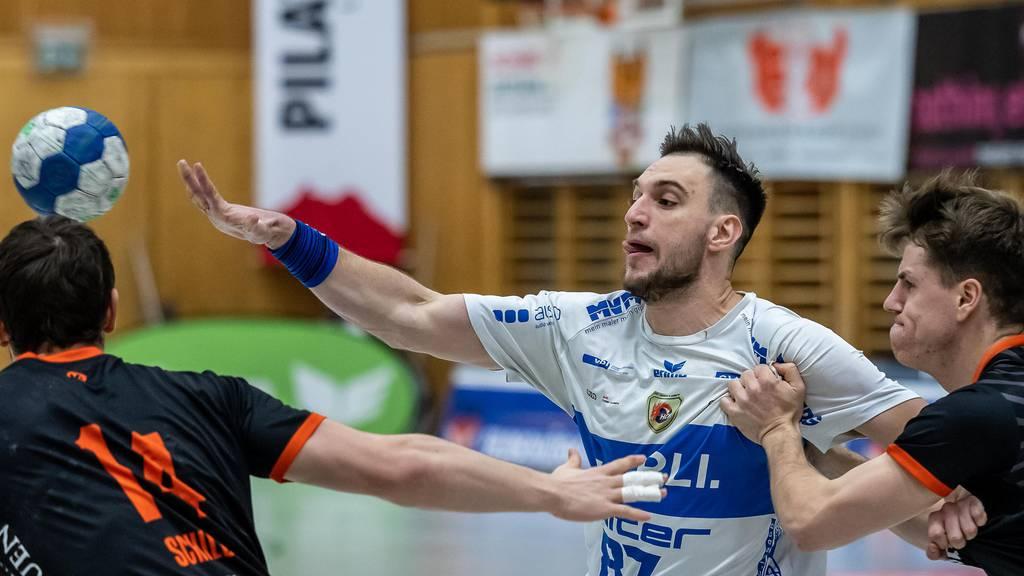 Luzerns Handballer mit 31:22 Sieg gegen Basel