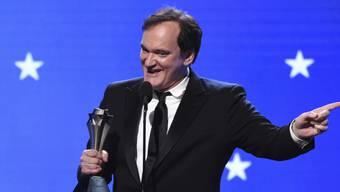 Regisseur Quentin Tarantino ist in der Nacht auf Montag bei den US-Kritikerpreisen ausgezeichnet worden.