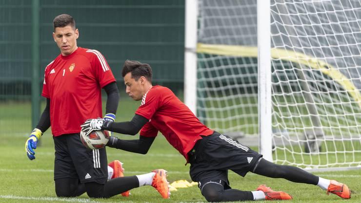 Schnappt Heinz Lindner (rechts) bald Djordje Nikolic nicht nur den Ball, sondern den Platz als Nummer 1 weg?