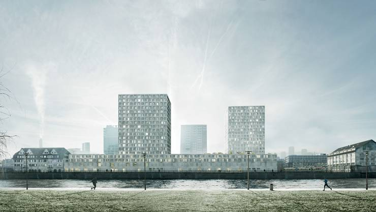 Visualisierung des Siegerprojekts der Basler Architekten.
