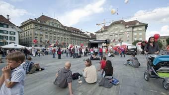Openair auf dem Bundesplatz 2011