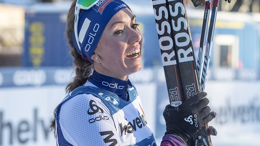 Selina Gasparin erstmals in dieser Saison in den Top 20