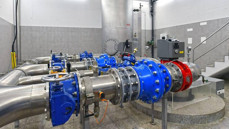 Grundwasser-Pumpwerk Pumpwerke Olten Gheid Wasserversorgung Olten