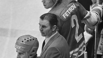 Legendärer Trainer an der Bande des sowjetischen Nationalteams und von ZSKA Moskau: Viktor Tichonow