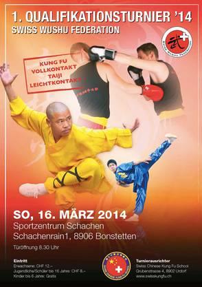 Den Flyer findet man auf der Homepage der Swiss Chinese Kung Fu School.