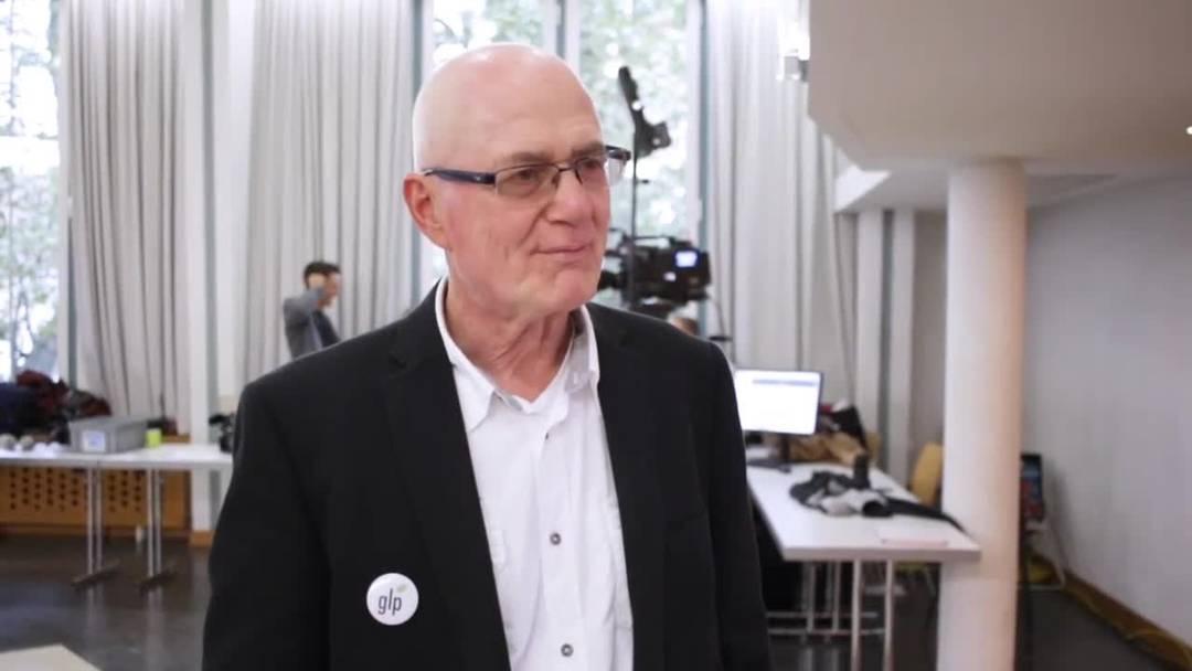 Georg Aemissegger, Präsident der Grünliberalen Kanton Solothurn, ist sehr zufrieden mit dem Wahlresultat
