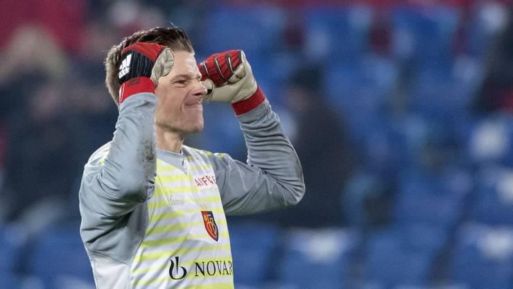 Der Überflieger der Saison: FCB-Goalie Jonas Omlin bekommt die Bestnote.