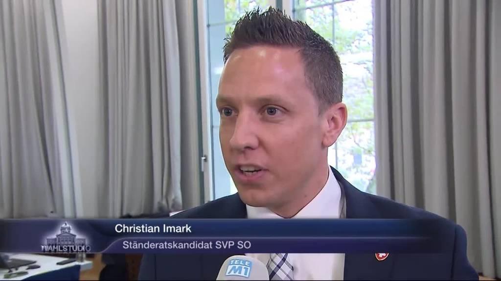 Christian Imark trotz guten Zwischenresultaten zurückhaltend