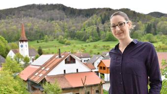 Die neue Gemeinderätin Adriana Gubler (29) kandidiert als Gemeindepräsidentin von Kienberg.
