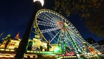 Herbstmesse, Münsterplatz Basel