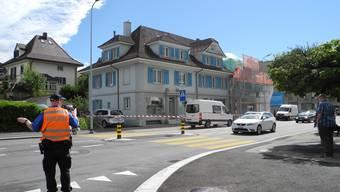 Polizeieinsatz an der Zuchwilerstrasse in Solothurn