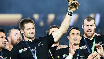"""Vor vier Jahren in London triumphierte Neuseeland. Auch ohne den zurückgetretenen Captain und Rekord-Nationalspieler sind die """"All Blacks"""" wieder die Topfavoriten"""