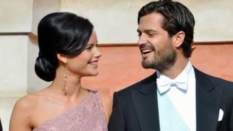 Ein schönes Paar: Prinz Carl Philip und Sofia Hellqvist (Archiv)