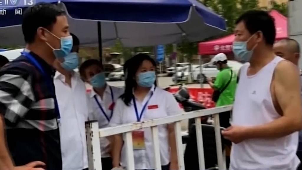 Nach Ausbruch in Peking: China meldet 49 neue Corona-Fälle