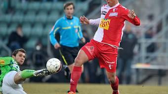 Aleksandar Prijovic brachte Sion 1:0 in Führung