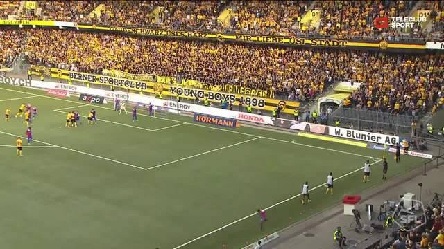 Super League, 2018/19, 7. Runde YB - FC Basel 3:0 Mohamed Ali Camara