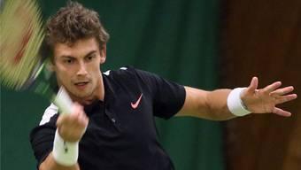 Henri Laaksonen scheiterte gestern im Viertelfinal am Russen Daniil Medvedev.
