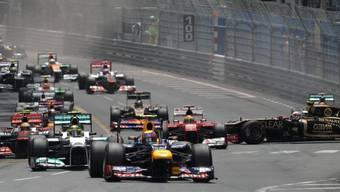Nach einem spannenden Start gewann Mark Webber das Rennen von Monaco