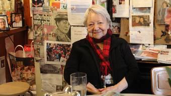 Die Aargauerin des Jahres 2014 verstarb am Mittwoch 87-jährig nach kurzer Krebserkrankung. Erst vor einem Jahr schloss sie ihr Restaurant in Wohlen.