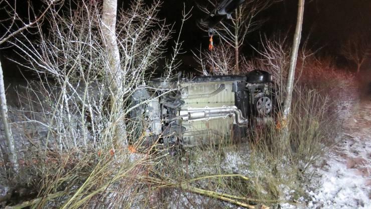 Unfall in Neuenhof: Hier gab es keine Verletzte.