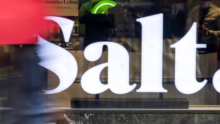 Rund 10 Prozent der 1,8 Millionen Schweizer Salt-Kunden sind derzeit von einer Störung betroffen. (Archivbild)