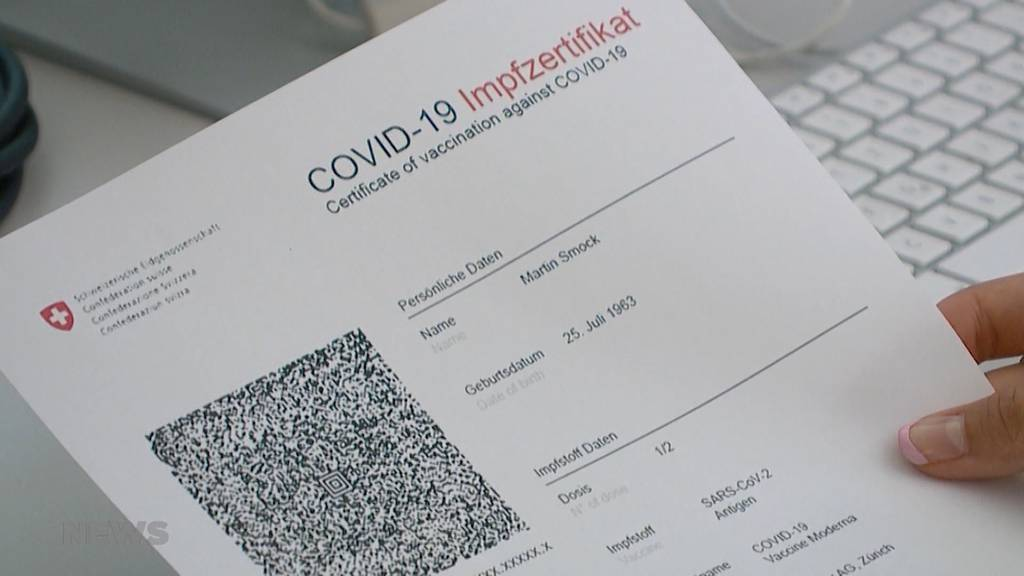 QR-Code auf Papier und für das Handy: Nächste Woche startet die Pilotphase des Covid-Zertifikats