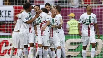 Portugal bezwingt Dänemark mit 3:2