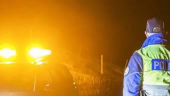 Die Kantonspolizeien waren mit rund 70 Polizistinnen und Polizisten vor Ort. (Symbolbild)